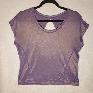 Lululemon Keyhole Back Yoga Shirt
